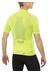 X-Bionic Effektor Biking Powershirt Short Sleeves Full Zip Men Green Lime/Pearl Grey